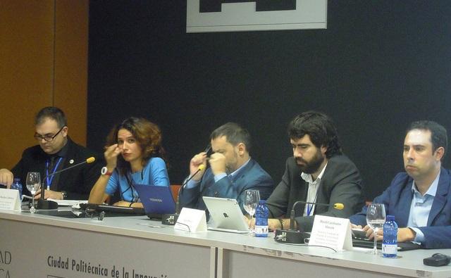 Foto de los ponentes de la Actividad 2