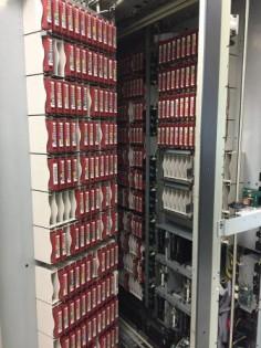 Interior del robot de almacenamiento digital