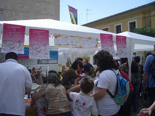 Foto de las Trobades d'Escoles en Valencià (2009, Benimamet)