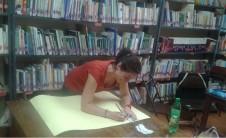 Foto de Gema Esteve Esteve durante el proyecto GIA en Guatemala