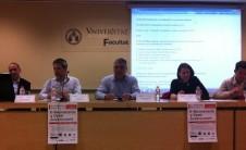 Foto de ponentes en el IV Seminario Política 2.0: E-Democracia y Open Government