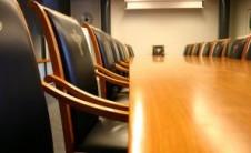 Foto de un despacho de reuniones