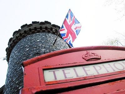 Foto de cabina telefónica inglesa