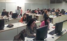 Foto de un taller de formación del COBDCV