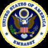 Logo de la Ambaixada d'EEUU