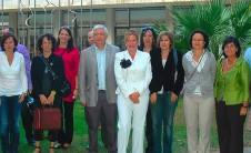 I Jornades Valencianes de Documentació. Foto en grupo de ponentes, organizadores y asistentes