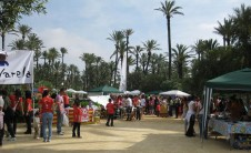 Foto de las Trobades d'Escoles en Valencià en el Palmeral de Alicante (2010)