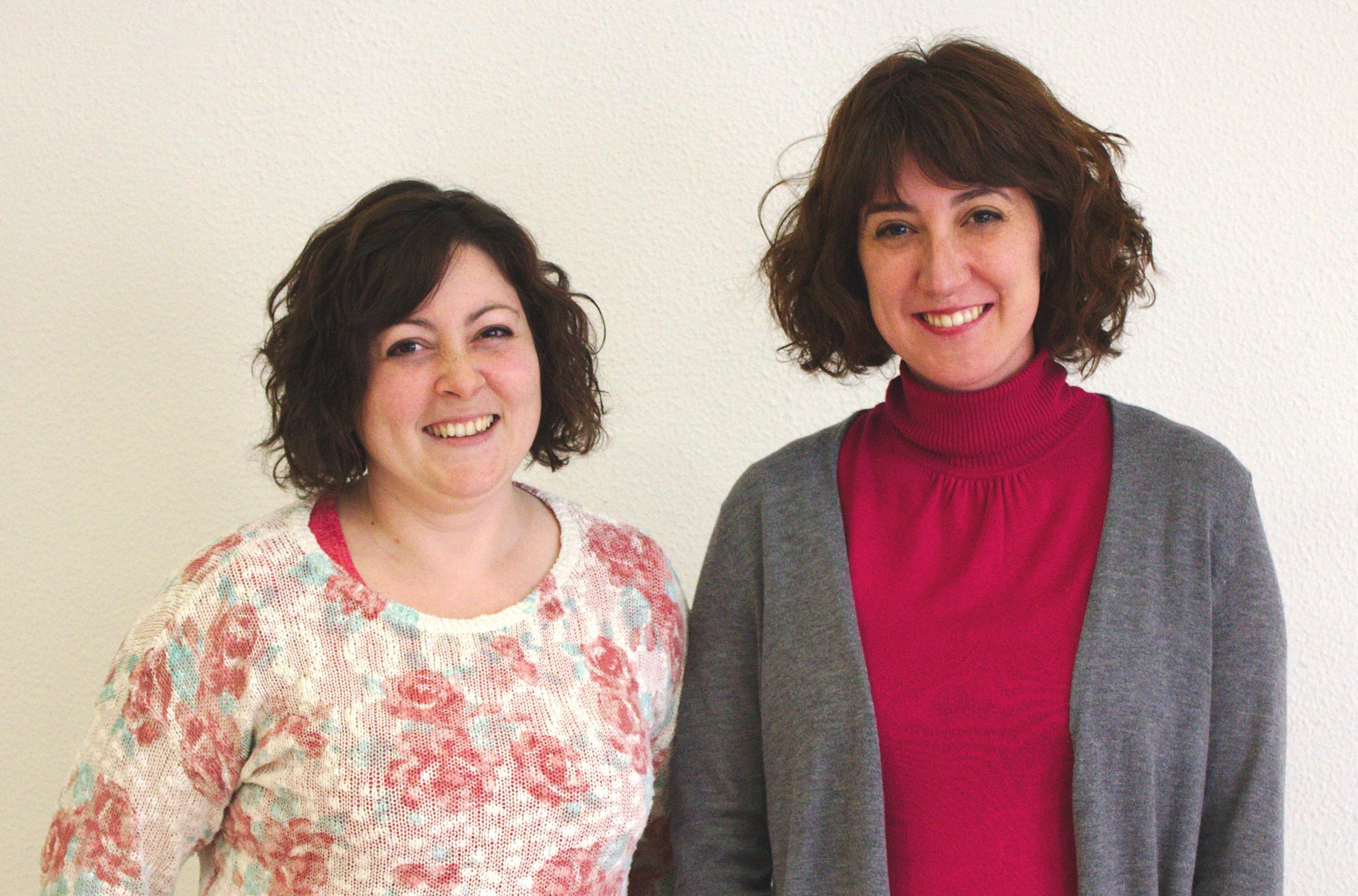 Isabel García y Carolina Andreu